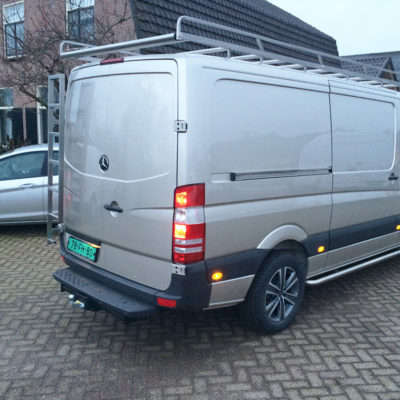 Rvs kisten of side bars